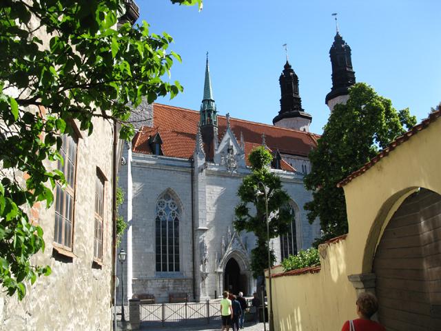 Главный собор города посвящен деве